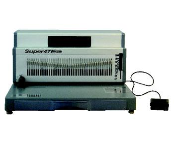 Super 47 E Elektrikli Helezon Spiral Cilt Makinesi