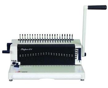 Super 21 Plastik Spiral Cilt Makinesi