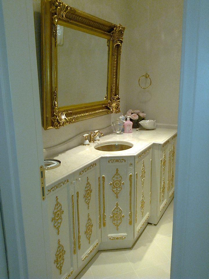 Lake altın göbekli banyo